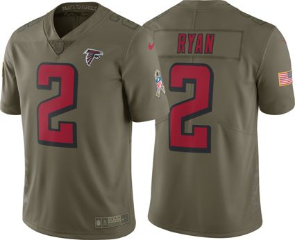 Nike Men s Home Limited Salute to Service 2017 Atlanta Falcons Matt Ryan  2  Jersey  aa54bdd83