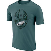 Nike Men's Philadelphia Eagles Diffraction Icon Performance Green T-Shirt