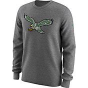 Nike Men's Philadelphia Eagles Alt Logo Grey Long Sleeve Shirt