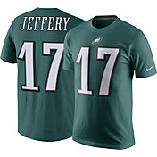 Nike Men's Philadelphia Eagles Alshon Jeffery #17 Pride Green T-Shirt