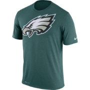 Nike Men's Philadelphia Eagles Legend Logo Green T-Shirt