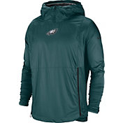 Nike Men's Philadelphia Eagles Sideline Fly Rush Green Jacket