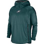 eacff4d0d3c6 Product Image · Nike Men s Philadelphia Eagles Sideline Fly Rush Green  Jacket