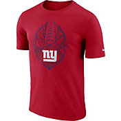 Nike Men's New York Giants Icon Performance Red T-Shirt