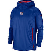 Nike Men's New York Giants Sideline Fly Rush Royal Jacket