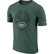 Nike Men's New York Jets Icon Performance Green T-Shirt