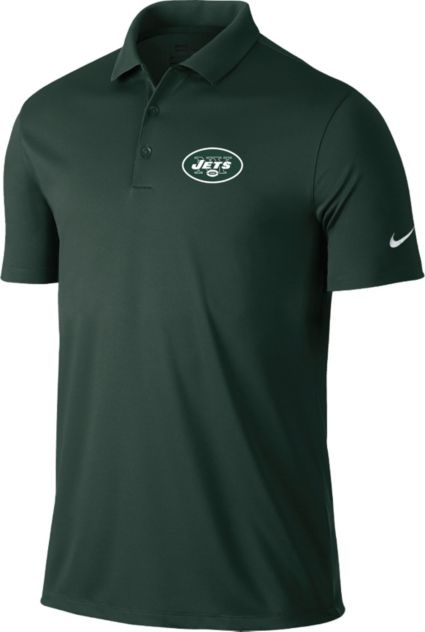 Nike Men's New York Jets Victory Green Polo