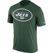 Nike Men's New York Jets Legend Logo Green T-Shirt