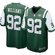 Nike Men's Home Game Jersey New York Jets Leonard Williams #92