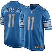 Nike Men's Detroit Lions Marvin Jones #11 Blue Game Jersey
