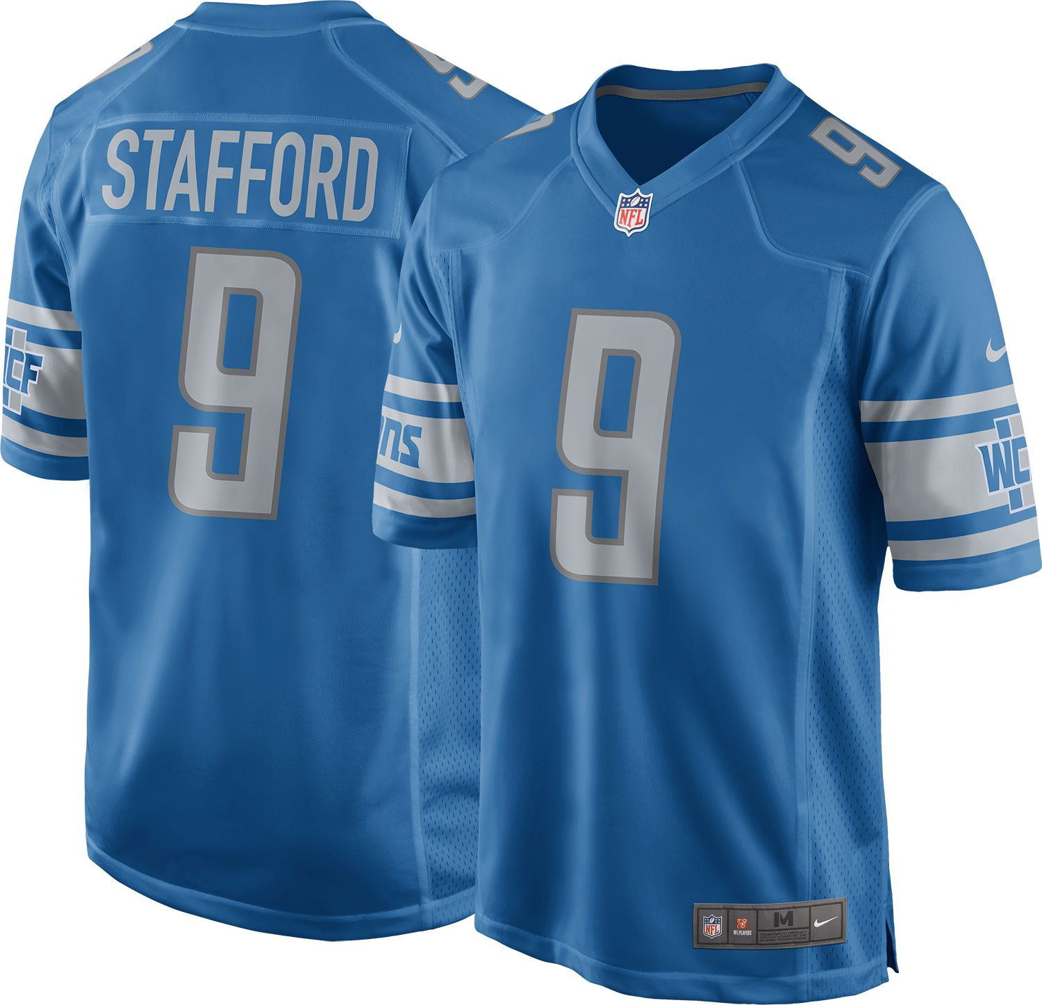 2c87e11c4 ... where to buy nike mens home game jersey detroit lions matthew stafford 9  1968f f75a1