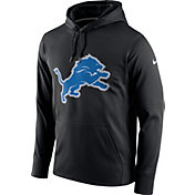 Nike Men's Detroit Lions Essential Logo Black Hoodie