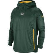 e8e9bda073f Nike Men s Green Bay Packers Sideline Fly Rush Green Jacket