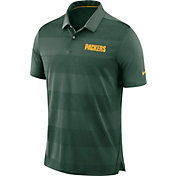 Nike Men's Green Bay Packers Sideline Early Season Green Polo