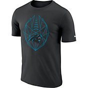 b293b11c5 Product Image · Nike Men s Carolina Panthers Icon Performance Black T-Shirt