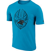 Nike Men's Carolina Panthers Icon Performance Blue T-Shirt