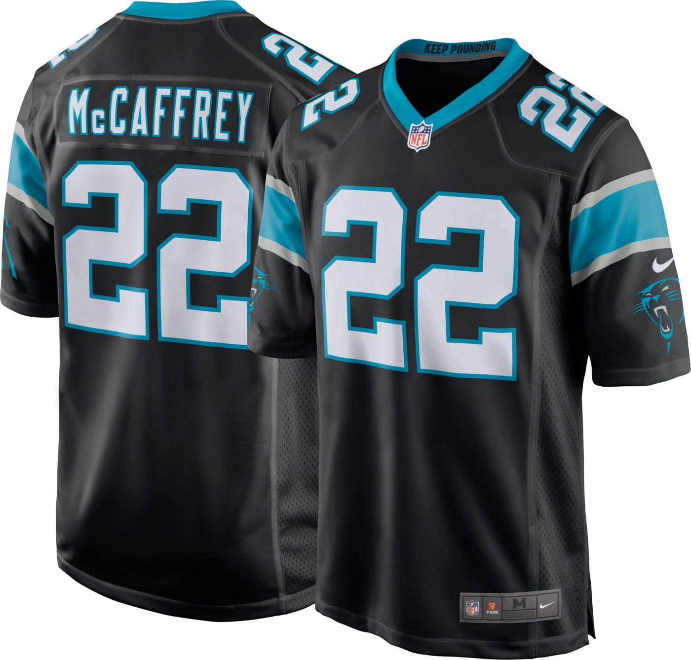Nike Men's Home Game Jersey Carolina Panthers Christian McCaffrey #22