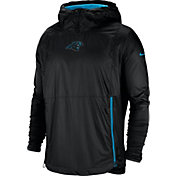 Nike Men's Carolina Panthers Sideline Fly Rush Black Jacket