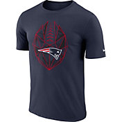 Nike Men's New England Patriots Icon Performance Navy T-Shirt