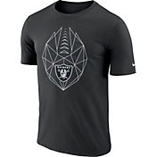 Nike Men's Oakland Raiders Icon Performance Black T-Shirt