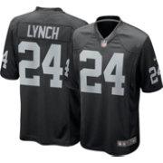 eb59a3efa7c Nike Men's Home Game Jersey Oakland Raiders Marshawn Lynch #24 ...