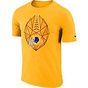 Nike Men's Washington Redskins Icon Performance Gold T-Shirt
