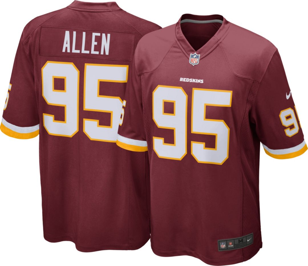 the best attitude 3fe83 2992c Nike Men's Home Game Jersey Washington Redskins Jonathan Allen