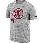 Nike Men's Washington Redskins Legend Velocity Travel Performance Grey T-Shirt