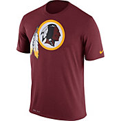 Nike Men's Washington Redskins Legend Logo Performance Red T-Shirt