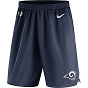 Nike Men's Los Angeles Rams Dry Knit Navy Performance Shorts