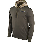 Nike Men's Los Angeles Rams Salute to Service 2017 Therma-FIT Performance Hoodie