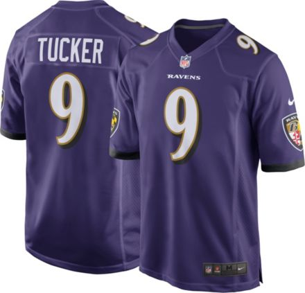 1d0c37aea Nike Men  39 s Home Game Jersey Baltimore Ravens Justin Tucker  9
