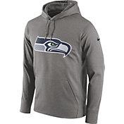 Nike Men's Seattle Seahawks Essential Logo Grey Hoodie