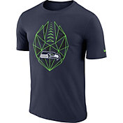 Nike Men's Seattle Seahawks Icon Performance Navy T-Shirt