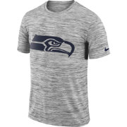 Nike Men's Seattle Seahawks Legend Velocity Travel Performance Grey T-Shirt