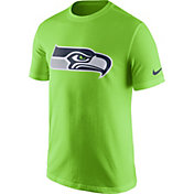 Nike Men's Seattle Seahawks Essential Logo Green T-Shirt