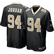 Nike Men's New Orleans Saints Cameron Jordan #94 Black Game Jersey
