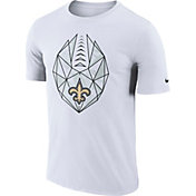 Nike Men's New Orleans Saints Icon Performance White T-Shirt