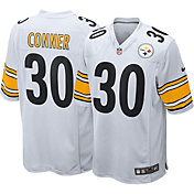 Nike Men's Away Game Jersey Pittsburgh Steelers James Conner #30