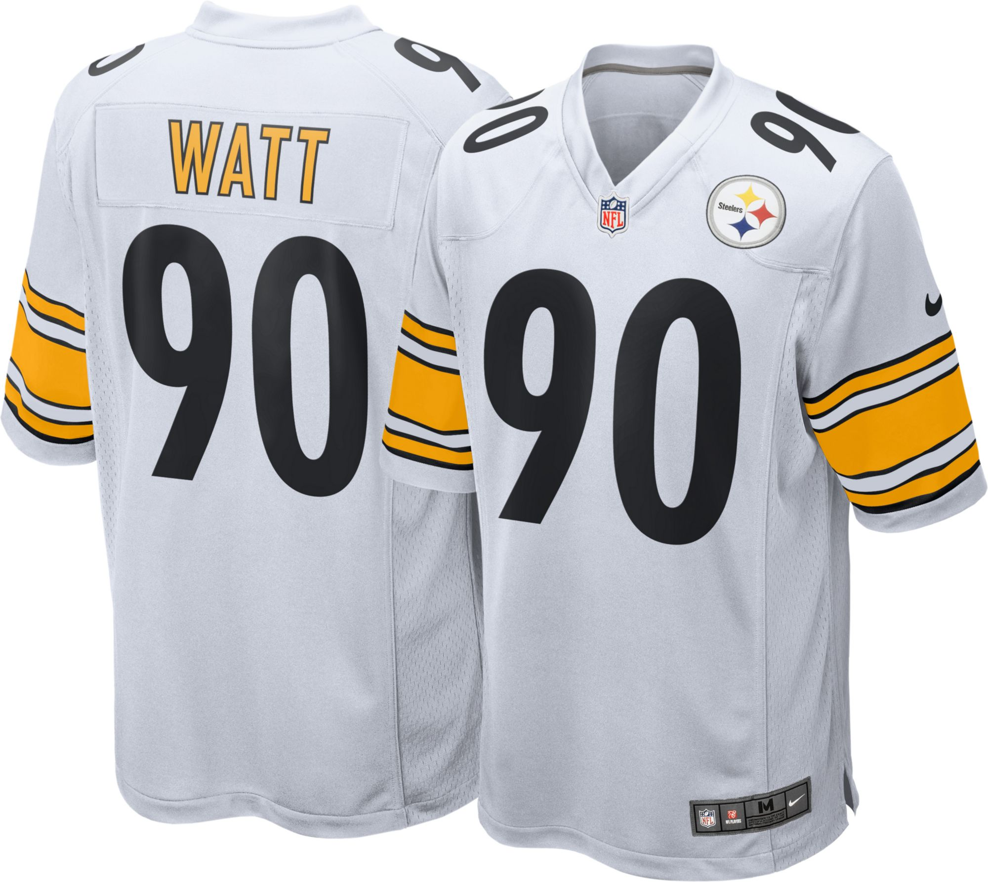 new product 8bdd5 2d814 ebay pittsburgh steelers away jersey 09862 c85a5
