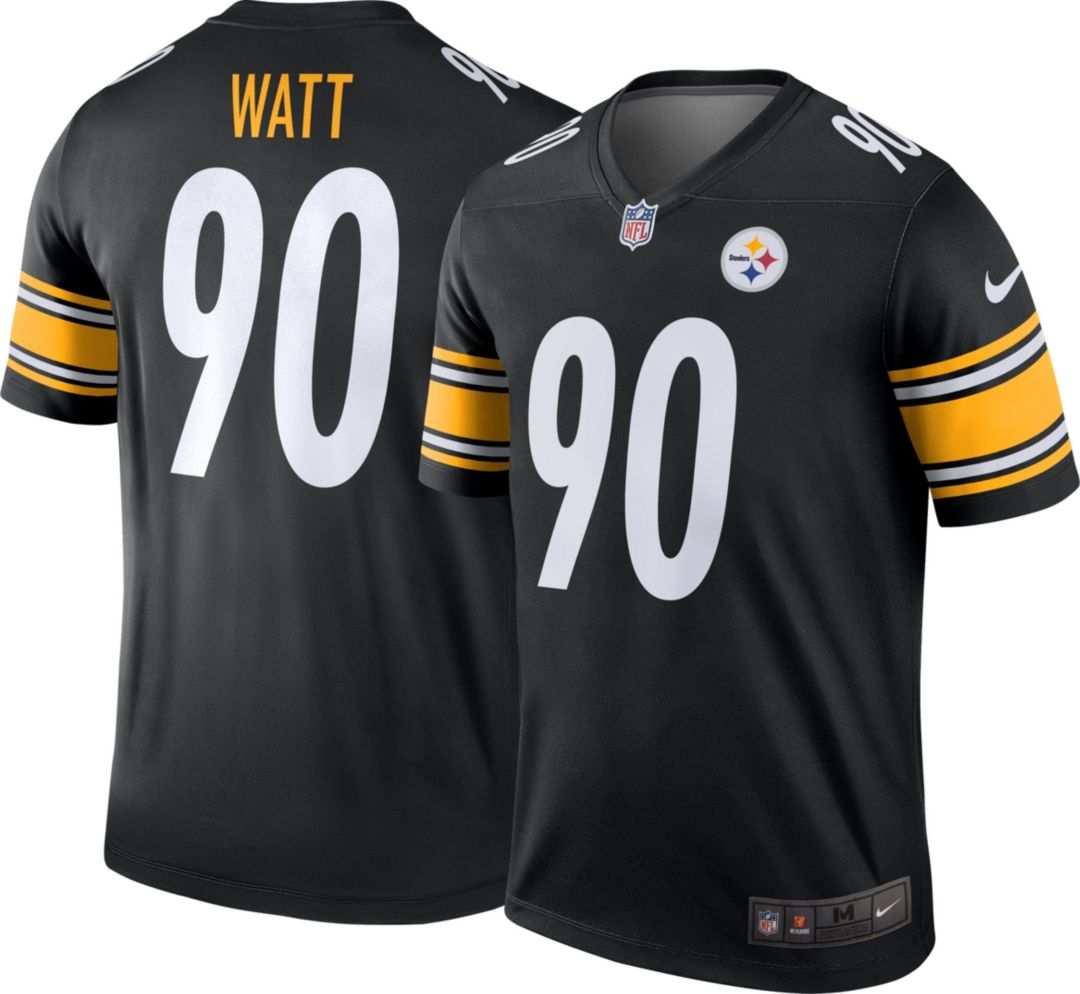 brand new d231c 0a2fc Nike Men's Home Legend Jersey Pittsburgh Steelers T.J. Watt #90