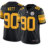 Nike Men's Color Rush Limited Jersey Pittsburgh Steelers T.J. Watt #90