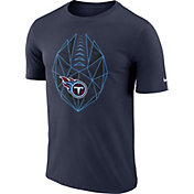 Nike Men's Tennessee Titans Icon Performance Navy T-Shirt