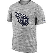 Nike Men's Tennessee Titans Legend Velocity Travel Performance Grey T-Shirt