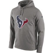 Nike Men's Houston Texans Essential Logo Grey Hoodie