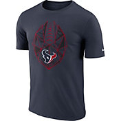 Nike Men's Houston Texans Icon Performance Navy T-Shirt