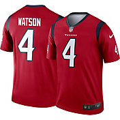 Nike Men's Home Legend Jersey Houston Texans Deshaun Watson #4