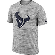 Nike Men's Houston Texans Legend Velocity Travel Performance Grey T-Shirt