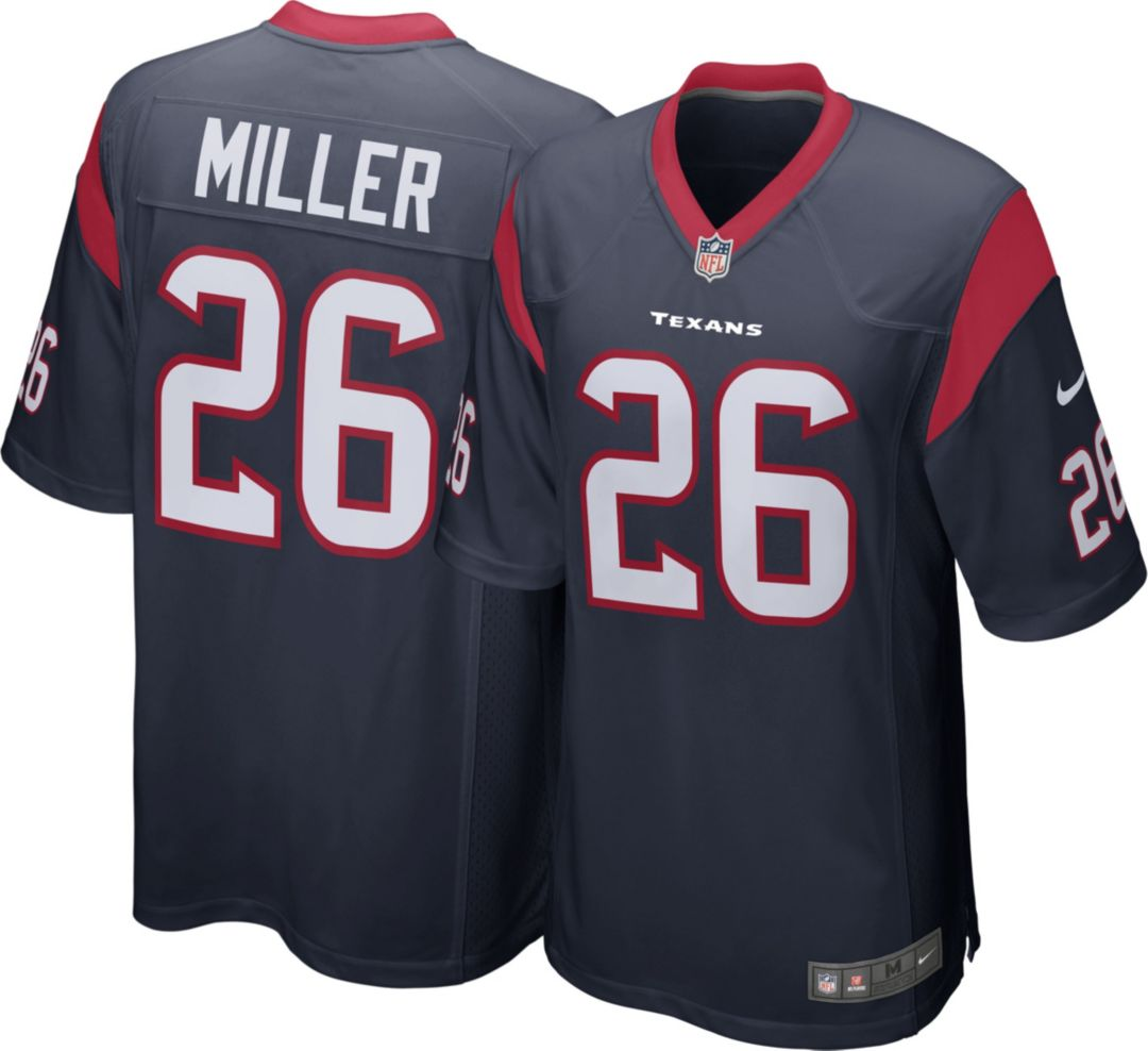 pretty nice 26f20 fd2b3 Nike Men's Home Game Jersey Houston Texans Lamar Miller #26