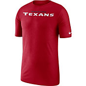 Nike Men's Houston Texans Sideline Player Performance Red T-Shirt